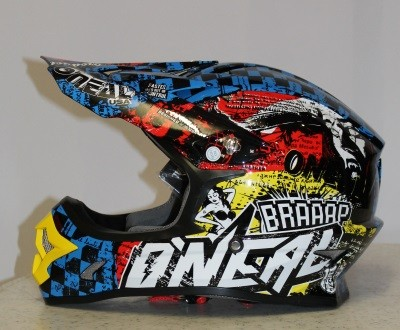 Oneal 3Series Helmet WILD black/multi M