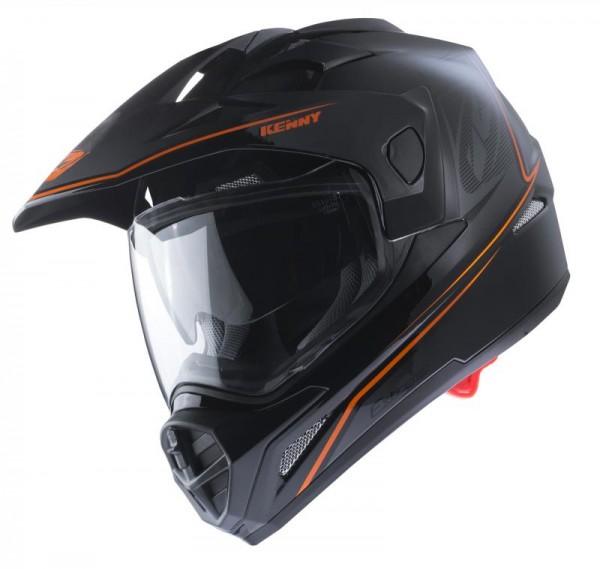 EXTREME Helm Erwachsene Schwarz Neonorange