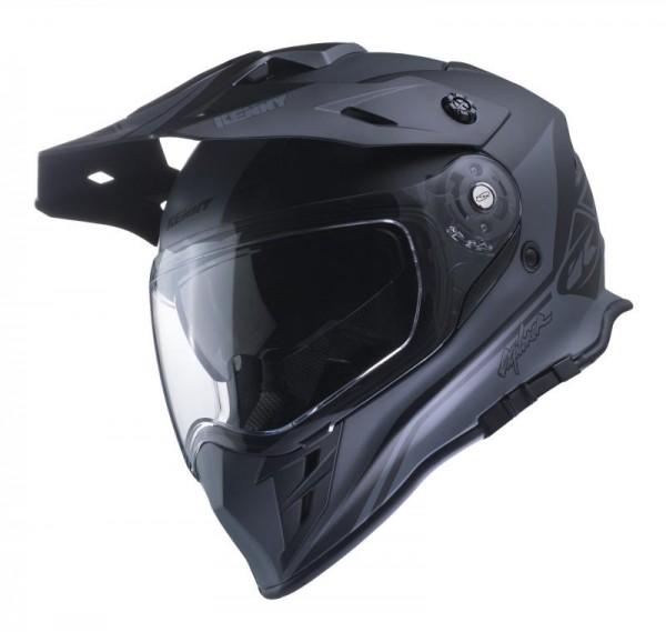 EXPLORER Helm Erwachsene Grau Schwarz