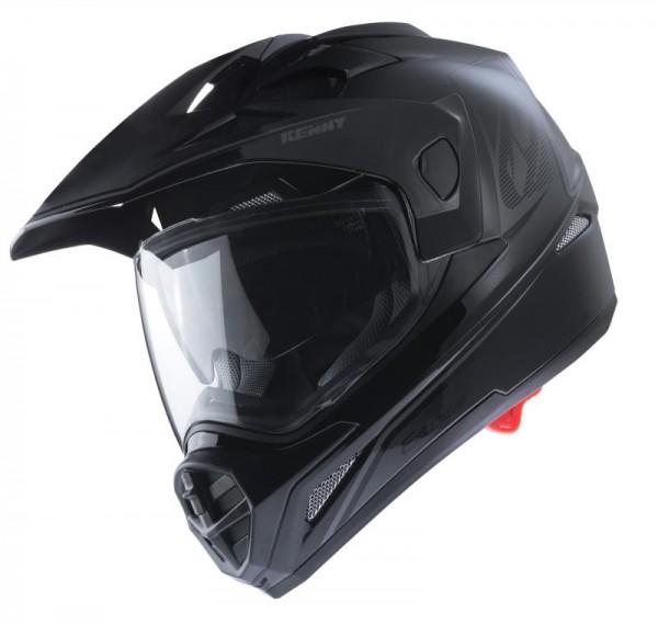 EXTREME Helm Erwachsene Schwarz Silber