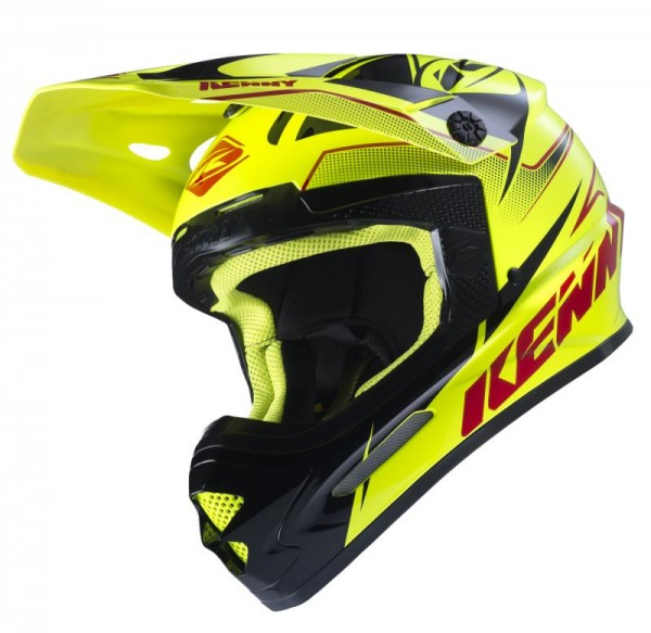 TRACK Helm Erwachsene Neongelb