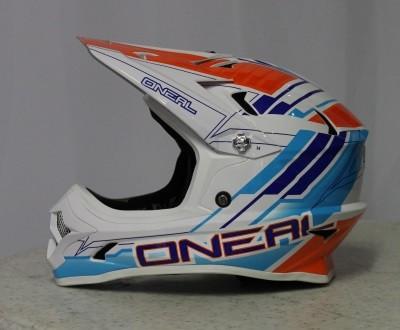 OnealBackflip RL2 MTB Weiß / Blau / Orange M