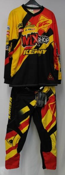 Kenny Track Combo schwarz rot gelb M / 30