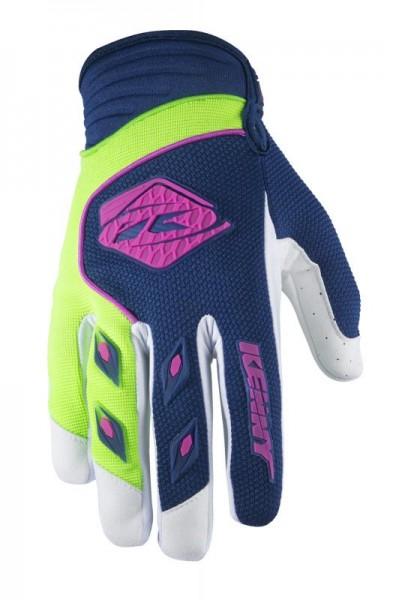 TRACK Handschuhe Erwachsene Dunkelblau Limettengrün