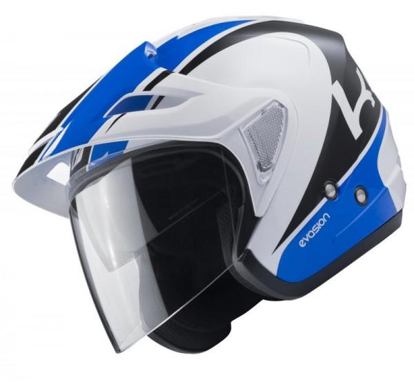 EVASION Helm Erwachsene Weiß Blau