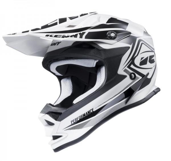 PERFORMANCE Helm Erwachsene Weiß Schwarz