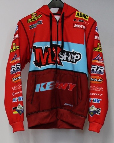 MXshop-Vorrink Team ZIP-Hoody