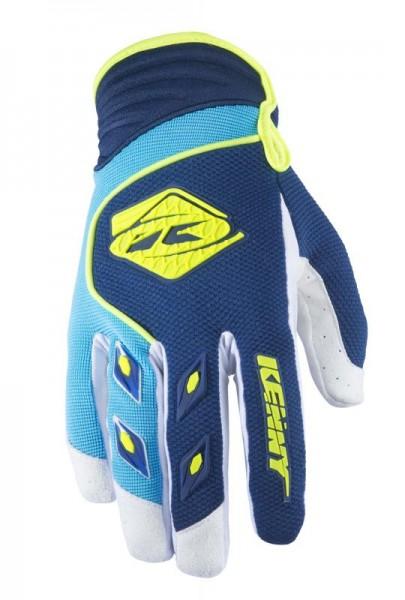 TRACK Handschuhe Erwachsene Dunkelblau Himmelblau