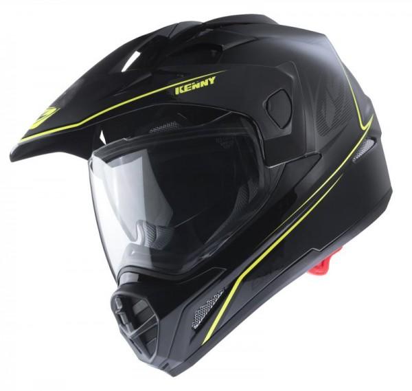 EXTREME Helm Erwachsene Schwarz Neongelb