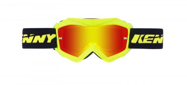 TRACK Brille Kinder Neongelb