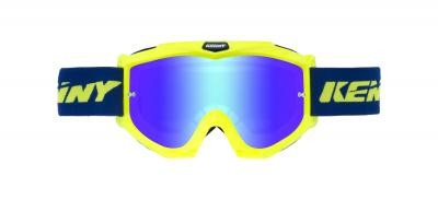 TRACK Brille Erwachsene Blau Neongelb