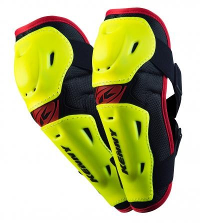 Kenny Elbow guards adult Neon Gelb