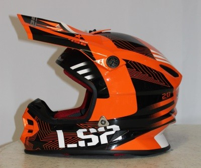 LS2 MX 456 Rallie Orange / Schwarz S