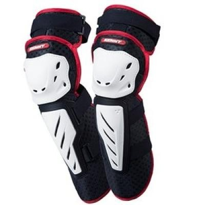 MTB KNEE-GUARD BLACK / WHITE ONE SIZE