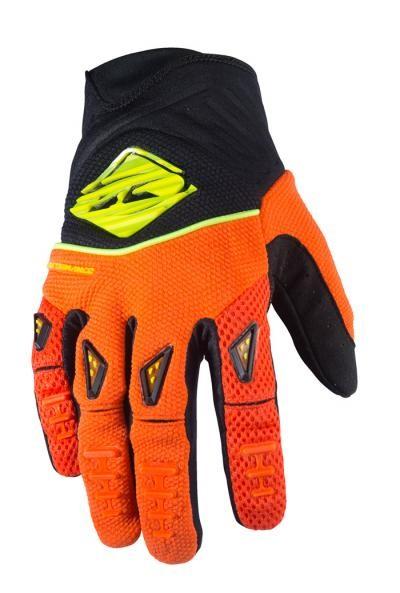 PERFORMANCE Handschuhe Erwachsene Neonorange Schwarz