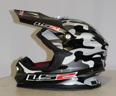 LS2 MX 456 LIGHT Dakar grau-camo M
