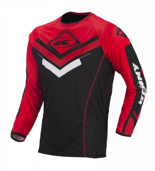 TITANIUM Shirt Erwachsene Schwarz Rot