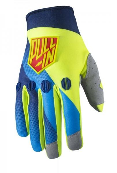 Erwachsene RACE Handschuhe Blau YELLOW