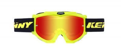TRACK Brille Erwachsene Neongelb
