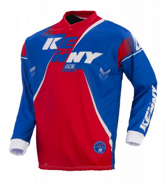 TRACK Shirt Erwachsene Blau Rot