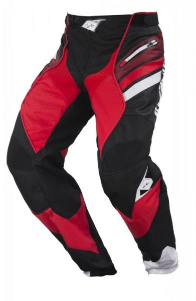 TITANIUM Hose Erwachsene Schwarz Rot