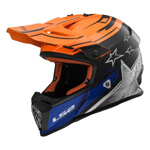 MX437 FAST CORE Schwarz Orange