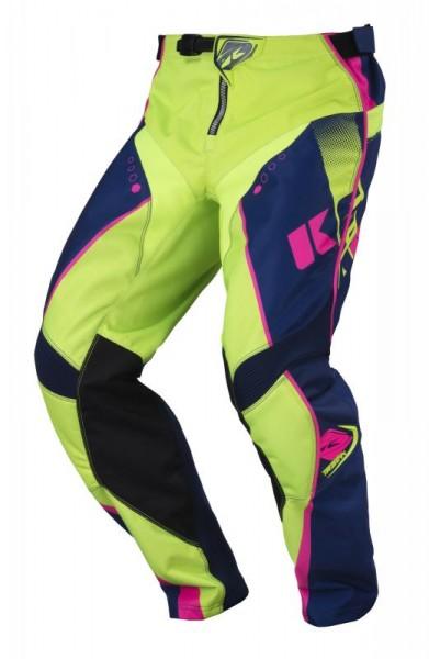 TRACK Hose Erwachsene Dunkelblau Limettengrün Pink
