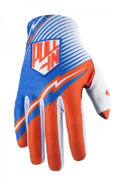JUNIORCHALLENGER Handschuhe Blau Orange