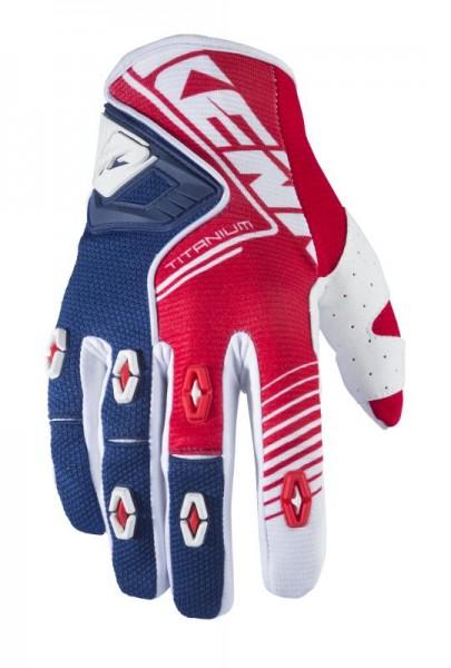 TITANIUM Handschuhe Erwachsene Rot Blau