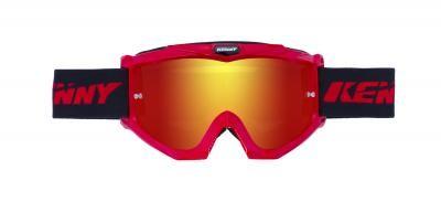 TRACK Brille Erwachsene Rot