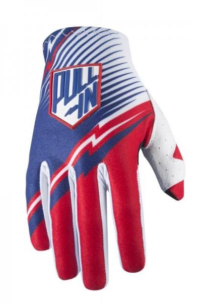 JUNIORCHALLENGER Handschuhe Blau Rot