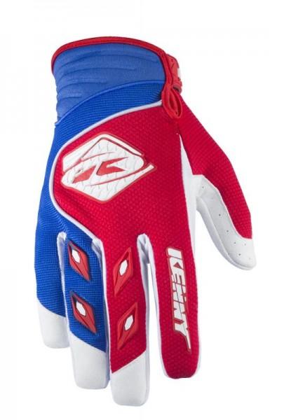 Kinder TRACK Handschuhe Rot Blau