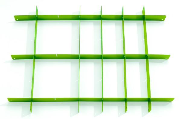Schubladeneinteiler grün- Set für Werkstattwagen