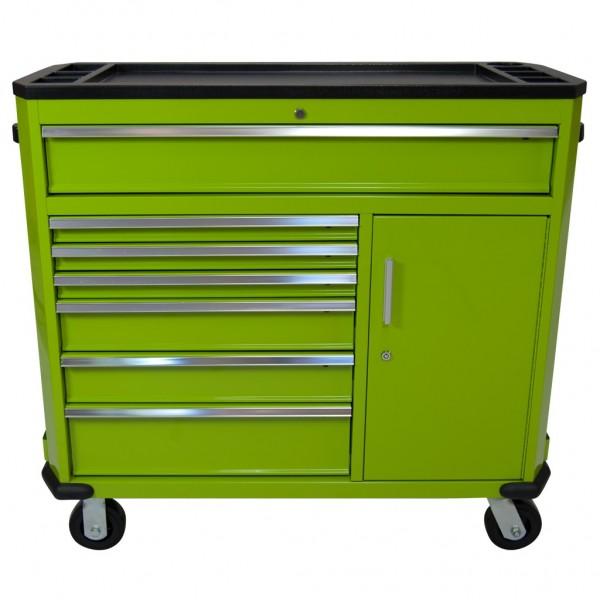 Werkzeugwagen Professional Serie groß grün
